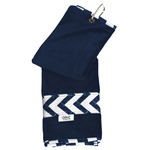 Glove It Coastal Tile Stripe Golf Towel