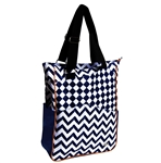Glove It Coastal Tile Tennis Tote