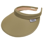 Glove It Ladies Khaki Golf Visor