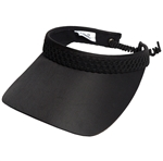 Glove It Black Mesh Golf Visors (w/Twist Cord)