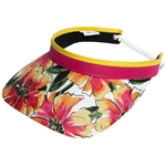 Glove It Sangria Golf Visors (w/Twist Cord)