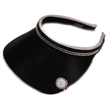 Glove It Ladies Golf Visor - Black Bling