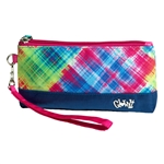 Glove It Electric Plaid Wristlet