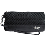 Glove It Black Mesh Wristlet