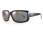 Sundog Serenity Polarized Sunglasses - Smoke/Pink