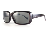 Sundog Serenity Polarized Sunglasses - Smoke/Crystal Burgundy