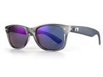 Sundog Legendary Polarized Sunglasses - Smoke/Crystal Grey