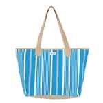 Ame & Lulu Brunch With Me Bag - Ticking Stripe