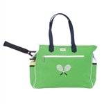 Ame & Lulu Crossed Racquet Tennis Court Bag