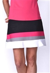 Golftini Triple Threat Pull On Tech Golf Skort
