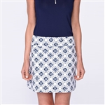 "Golftini Tech Pull On 18"" Golf Skort - Circle Of Love"