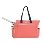 Ame & Lulu Kensington Court Bag - Coral/Navy