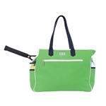 Ame & Lulu Kensington Court Bag - Green/Navy