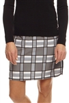 Golftini Performance Golf Skort - Passion Plaid