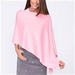 Golftini Cotton Cashmere Light Pink Poncho
