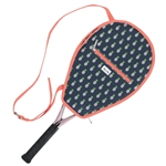 Ame & Lulu Riley Racquet Cover - Pineapple