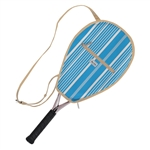 Ame & Lulu Riley Racquet Cover - Ticking Stripe