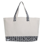 Ame & Lulu Resorter Tote - Black Shutters