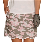 Golftini Cotton Golf Skort - Incognito Camo