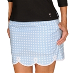 Golftini Cotton Golf Skort - Shirley Temple Blue
