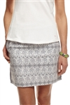 Golftini Empowered Cotton Skort - Elephant Print