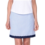 Golftini Fashion First Stretch Cotton Golf Skort