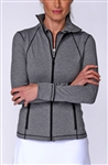 Golftini GT Heather Grey Tech Jacket