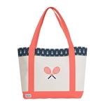 Ame & Lulu Pineapple Tennis Lovers Tote