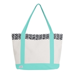 Ame & Lulu Tucket Tote - Black Shutters