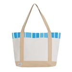 Ame & Lulu Tucket Tote - Ticking Stripe