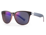 Sundog Freestyle Polycarbonate Lens Sunglasses - Smoke/Violet/Black