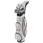 Nancy Lopez Ashley Pearl/Pink Golf Clubs & Bag