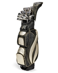 Nancy Lopez Flame Black/Gold Golf Clubs & Bag
