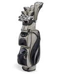 Nancy Lopez Flame Grey/Black Golf Clubs & Bag