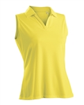 Nancy Lopez Luster Amber Sleeveless Polo