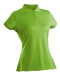 Nancy Lopez Luster Palm Short Sleeve Polo