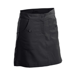 Nancy Lopez Charming Black Golf Skort