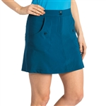 Nancy Lopez Charming Indigo Golf Skort