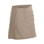 Nancy Lopez Charming Khaki Golf Skort