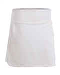 Nancy Lopez Glory White Golf Skort