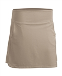 Nancy Lopez Glory Khaki Golf Skort