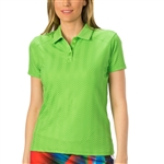 Nancy Lopez Grace Palm Short Sleeve Polo