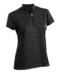 Nancy Lopez Ripple Short Sleeve Polo