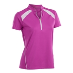 Nancy Lopez Sporty Hot Pink Short Sleeve Polo