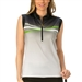 Nancy Lopez Maxi Sleeveless Golf Polo