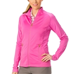 Nancy Lopez Quake Hot Pink Active Jacket