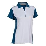 Nancy Lopez Bee Short Sleeve Polo - Indigo