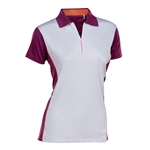 Nancy Lopez Bee Short Sleeve Polo - Magenta