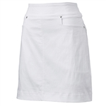 "Nancy Lopez 18"" Pully Golf Skort - White"