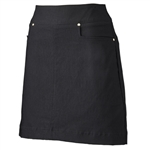"Nancy Lopez 18"" Pully Golf Skort - Black"